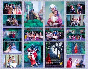 "Look at the fun in store for you at ""Into the Woods""! Shows are Thursdays-Sundays from May 17-June 19, 2013."